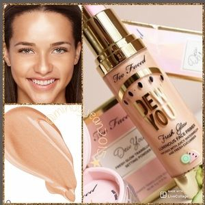 Too Faced Dew You luminous Face Primer🍉Rad. nude